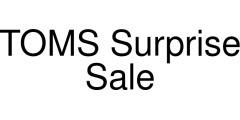 TOMS Surprise Sale coupon code